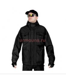 Куртка мужская демисезонная 2в1, AIR FORCE WINDBREAKER, 726 Armyfans, цвет Черный (Black)