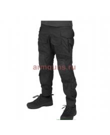 Брюки тактические мужские летние G3 Tactical Pants, с защитой коленей, ACTION STRETCH, RipStop, цвет цвет Черный (Black)