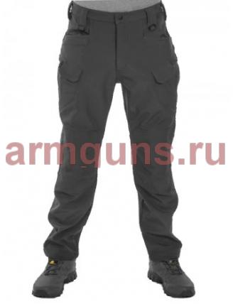 Брюки мужские, утепленные, Tactica 762, цвет Черный (Black)