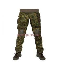 Брюки тактические мужские летние G3 Tactical Pants, с защитой коленей, ACTION STRETCH, RipStop, цвет EMP, Цифровая флора (EMP)