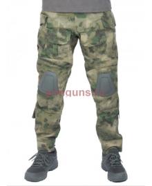 Брюки тактические мужские летние G3 Tactical Pants, с защитой коленей, ACTION STRETCH, RipStop, цвет Атакс, Мох (A-TACS)