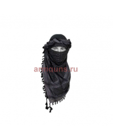 Арафатка,серо-черная,110х110 см