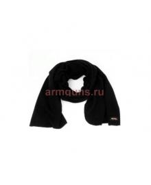 """Шарф флисовый """"GONGTEX"""" Field Scarf, 160 х 40 см с сумкой-чехлом, цвет черный, Black"""