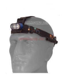 Налобный светодиодный аккумуляторный фонарь K28