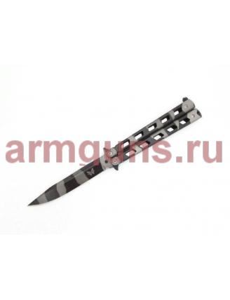 Нож - бабочка (балисонг) камуфляж