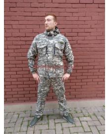 костюм горка 8 белый пиксел летний
