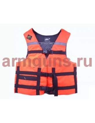 Жилет Спасательный Таймень оранжевый р. XXXL, (110-130 кг)