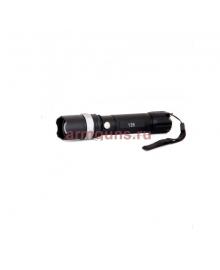 Фонарь светодиодный, ручной, аккумуляторный   125