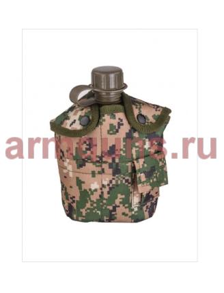Армейская  фляжка пластиковая 1 литр