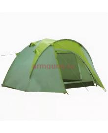 Туристическая палатка 4 местная с тамбуром Lanyu 1677D