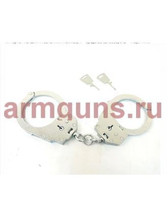 Наручники конвойные с фиксатором БР-1КФ «Краб» (оцинкованные)
