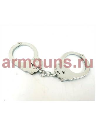 Наручники оперативные без фиксатора БР-1КФ «Крот» (оцинкованные)