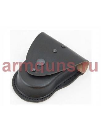 Чехол для наручников «БРС» формованный (кожа, черный)