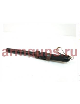 Палка резиновая ПР-89, с металлической ручкой, телескопическая