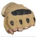Тактические Перчатки OKL беспалые, песочные (Sand)