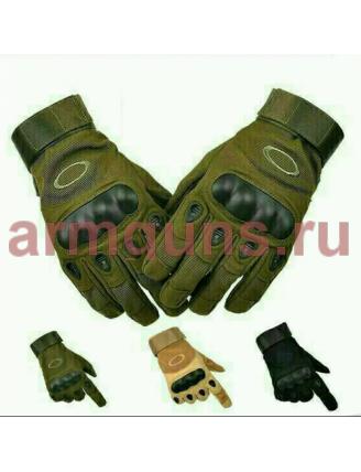 Тактические Перчатки OKL с закрытыми пальцами, зеленые (Olive)