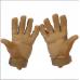 Тактические Перчатки OKL с закрытыми пальцами, песочные (Sand)