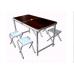 Складные туристические стол и стулья 4 шт