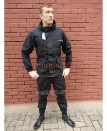 Костюм Горка 5 рип-стоп (Черный летний)