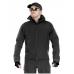 Тактический костюм мужской софтшелл (Softshell) GONGTEX GUNFIGHTER, до -10С, цвет Черный (Black)