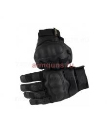 Тактические Перчатки GONGTEX tactical Gloves 018 , цвет черный, эко-кожа