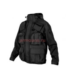 Куртка мужская демисезонная Tactical Pro Jacket 726 ARMYFANS, цвет Черный (Black)