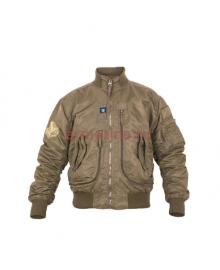 Куртка Пилот мужская (бомбер), демисезонная 762 Armyfans G056A, цвет Хаки (Khaki)