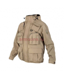 Куртка мужская демисезонная Tactical Pro Jacket 726 ARMYFANS, цвет Хаки (Khaki)
